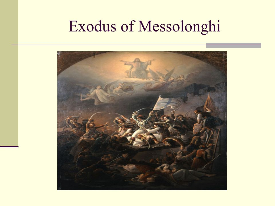 Exodus of Messolonghi