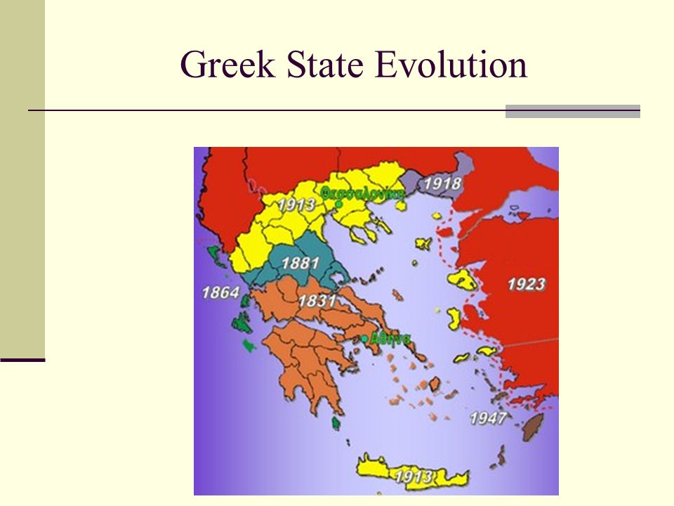 Greek State Evolution