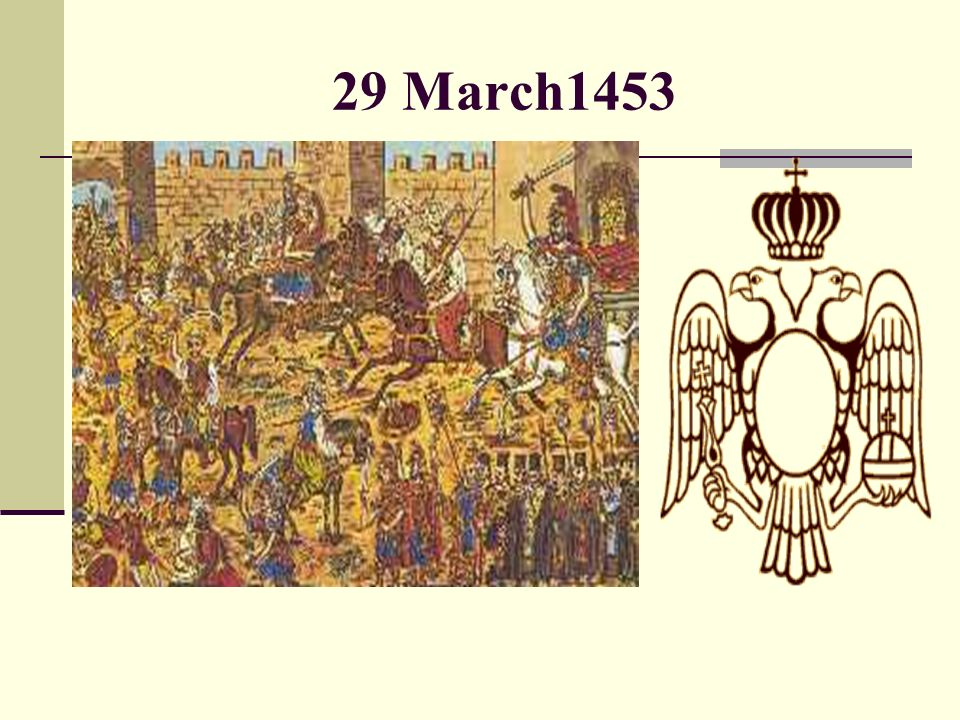 29 March1453
