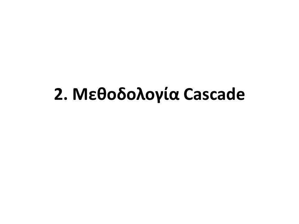 2. Μεθοδολογία Cascade