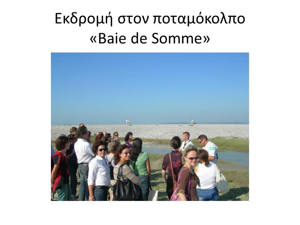 Εκδρομή στον ποταμόκολπο «Baie de Somme»