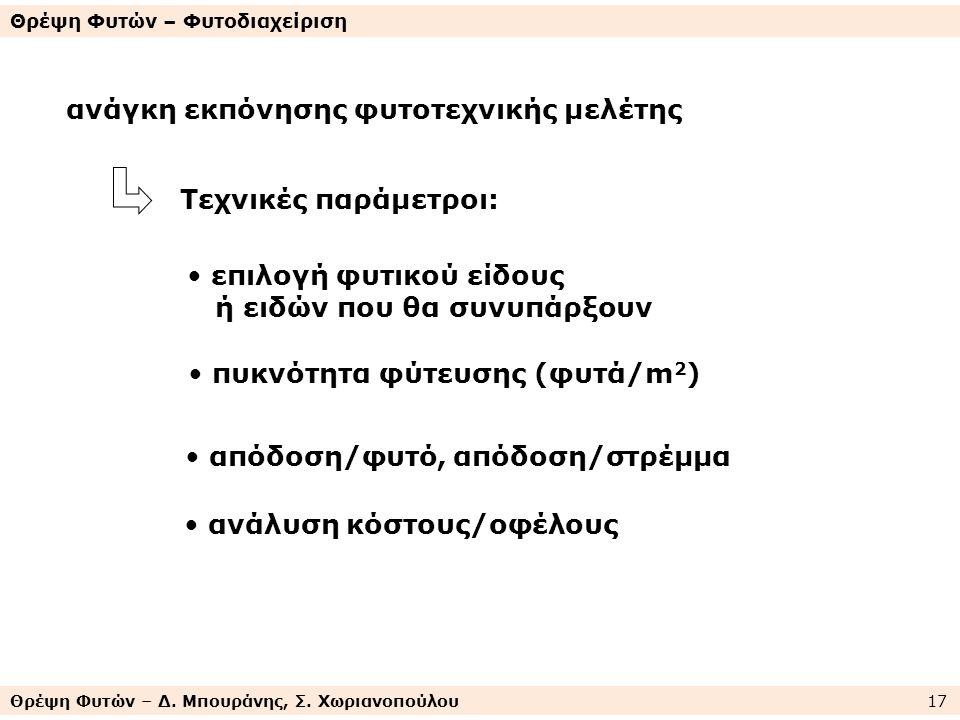 Θρέψη Φυτών – Δ. Μπουράνης, Σ.