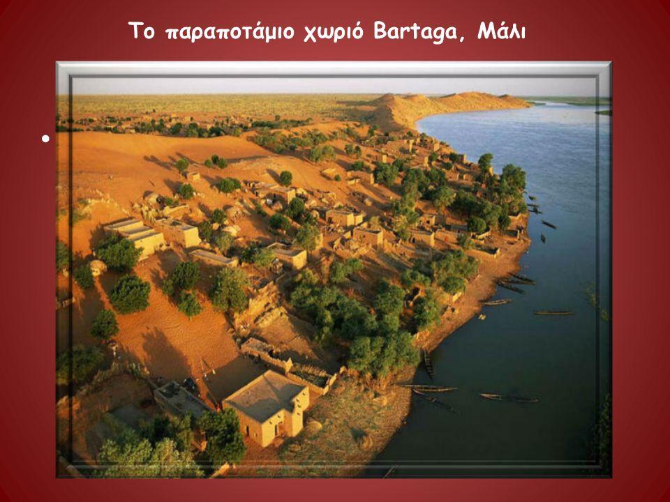 . Το παραποτάμιο χωριό Bartaga, Μάλι