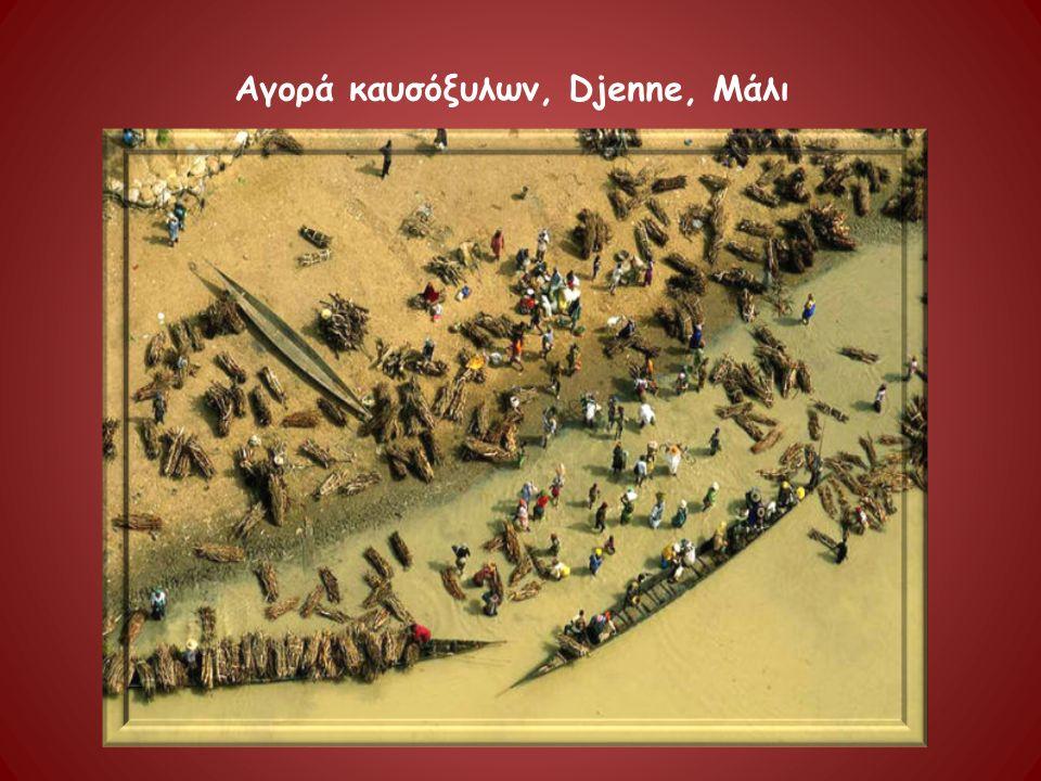 Αγορά καυσόξυλων, Djenne, Μάλι