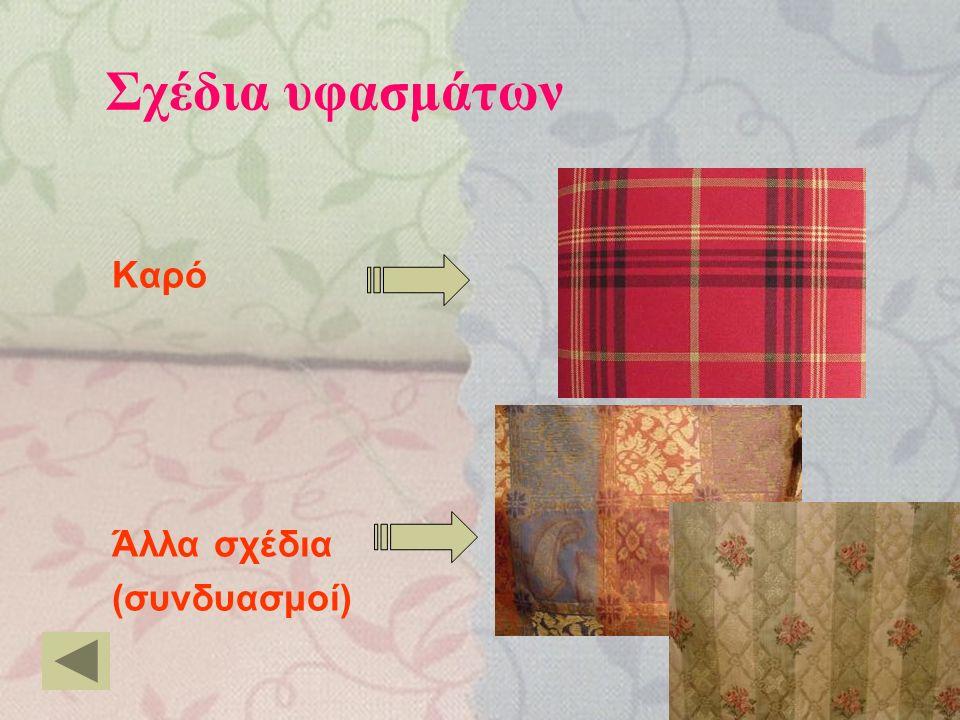 Σχέδια υφασμάτων Ριγέ Κοκκιδωτό