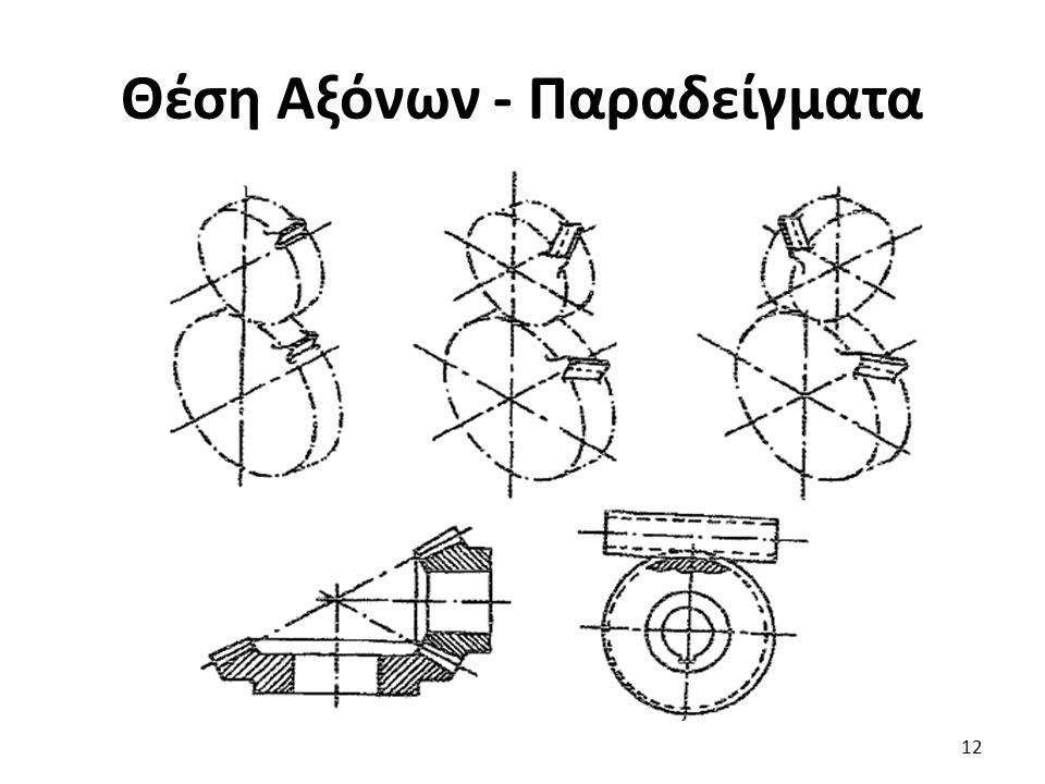 Θέση Αξόνων - Παραδείγματα 12