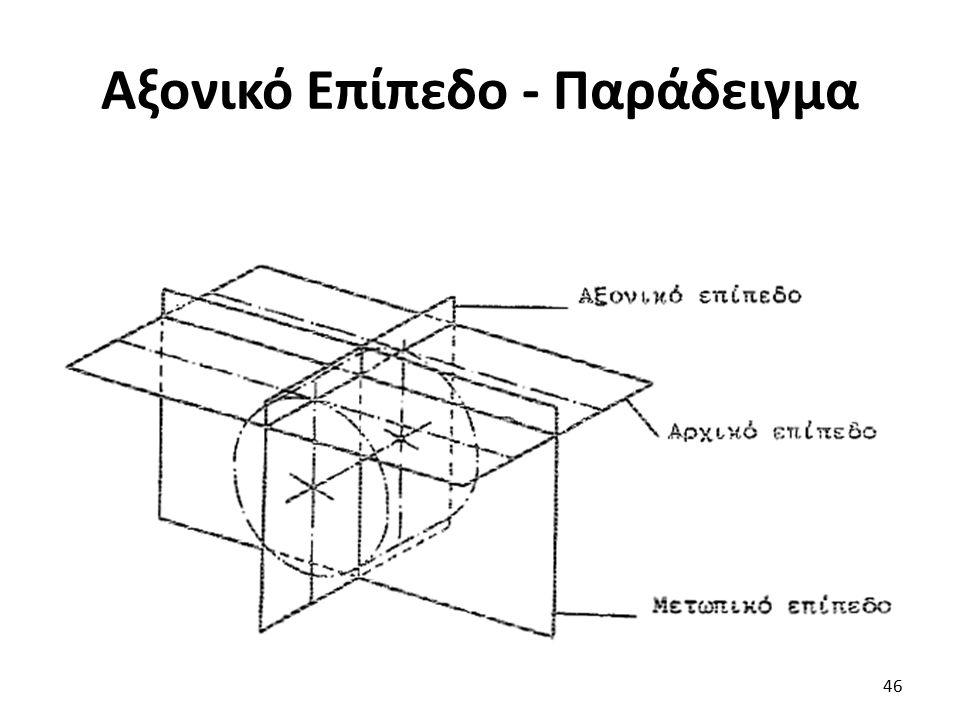 Αξονικό Επίπεδο - Παράδειγμα 46