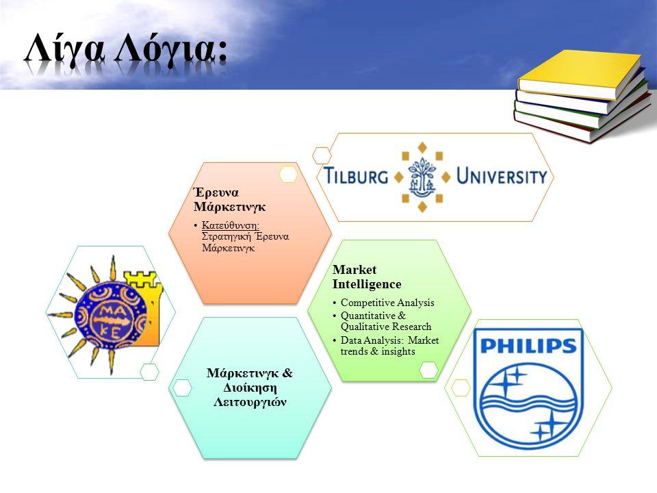 Study Portals – http://www.mastersportal.eu/ http://www.mastersportal.eu/ Rankings – http://www.topuniversities.com/university-rankings http://www.topuniversities.com/university-rankings – http://www.timeshighereducation.co.uk/world-university-rankings/2014-15/world- ranking http://www.timeshighereducation.co.uk/world-university-rankings/2014-15/world- ranking «Τι θέλω να κάνω για τα επόμενα 10 χρόνια;» ΠΡΟΓΡΑΜΜΑ ΣΠΟΥΔΩΝ