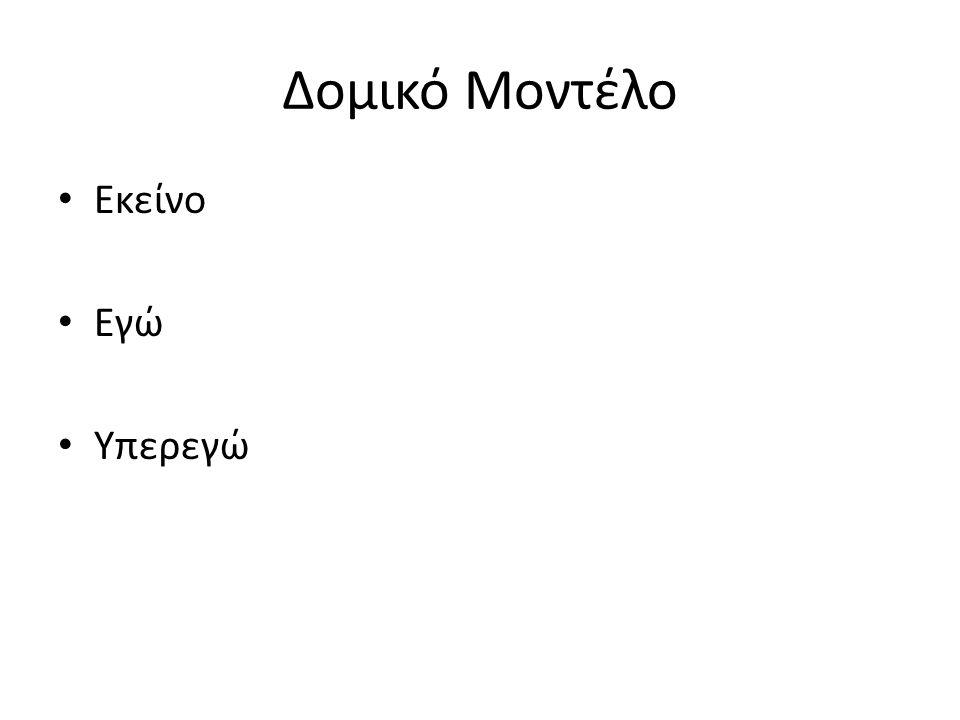 Τύποι μηχανισμών άμυνας ΙΙ Διάσχιση (π.χ.