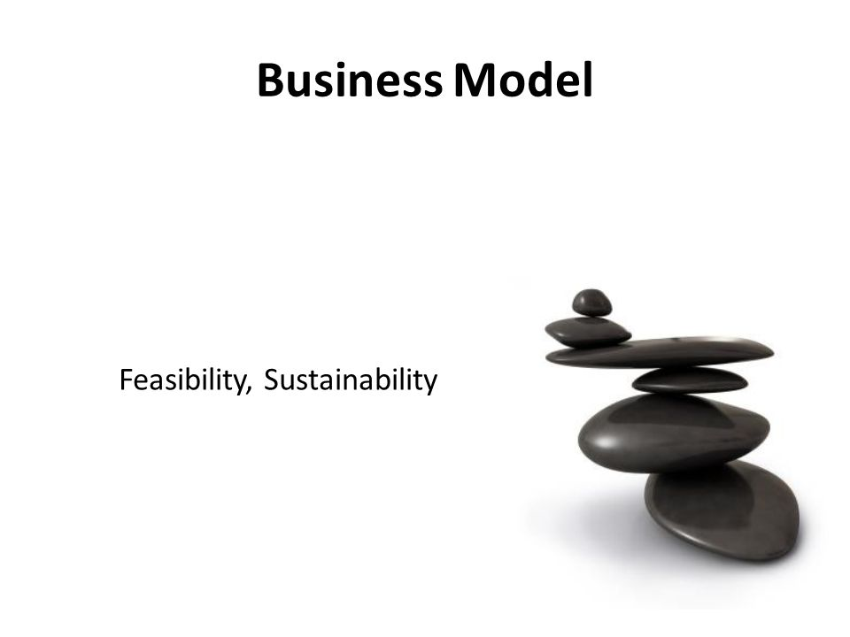 Feasibility, Sustainability Business Model