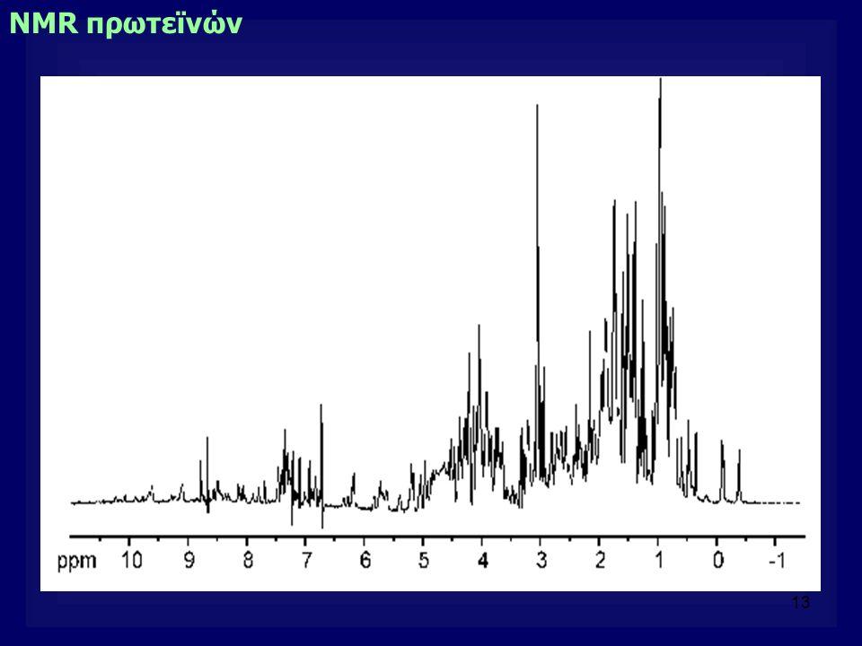 13 NMR πρωτεϊνών