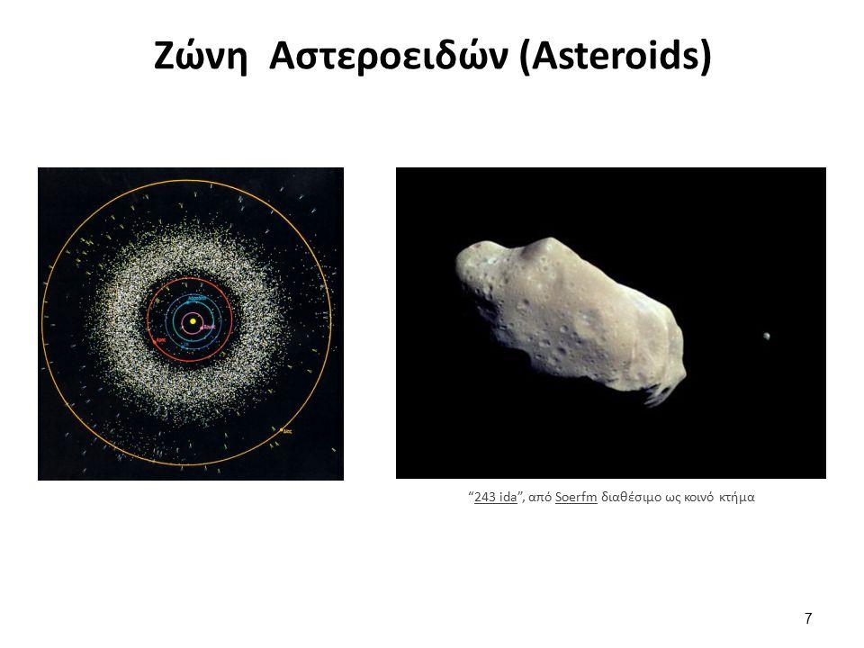 Ζώνη Αστεροειδών (Asteroids) 7 243 ida , από Soerfm διαθέσιμο ως κοινό κτήμα243 idaSoerfm