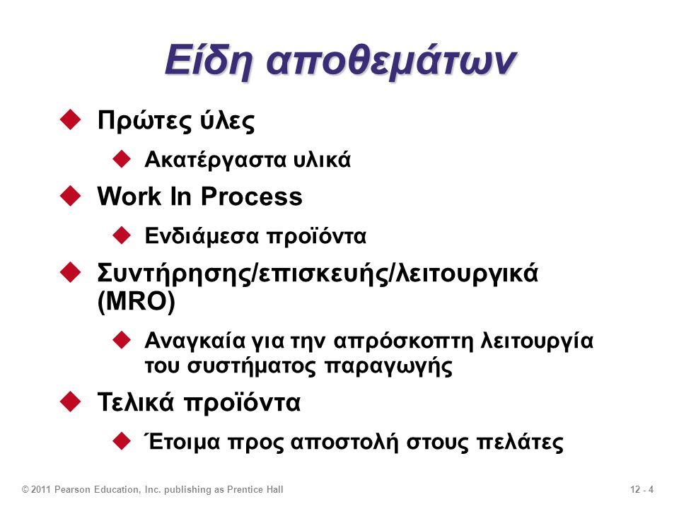 12 - 5 π.χ.Διανομέας ανταλλακτικών αυτοκινήτων π.χ.