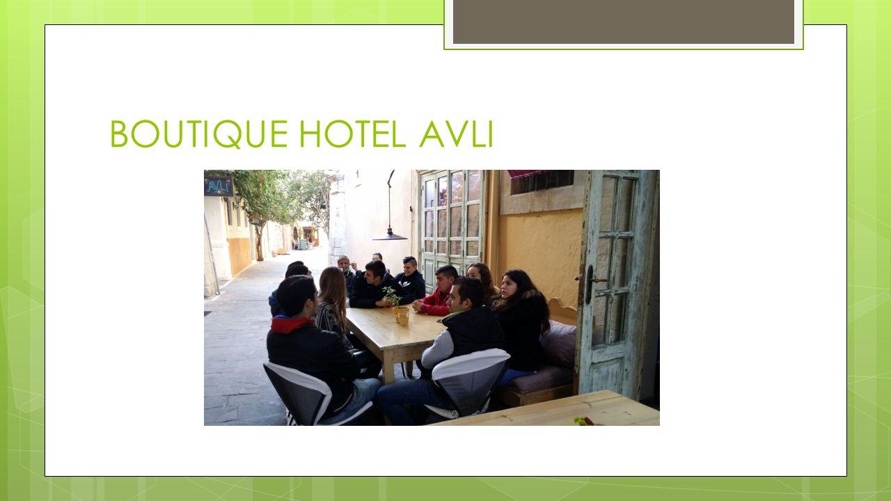BOUTIQUE HOTEL AVLI