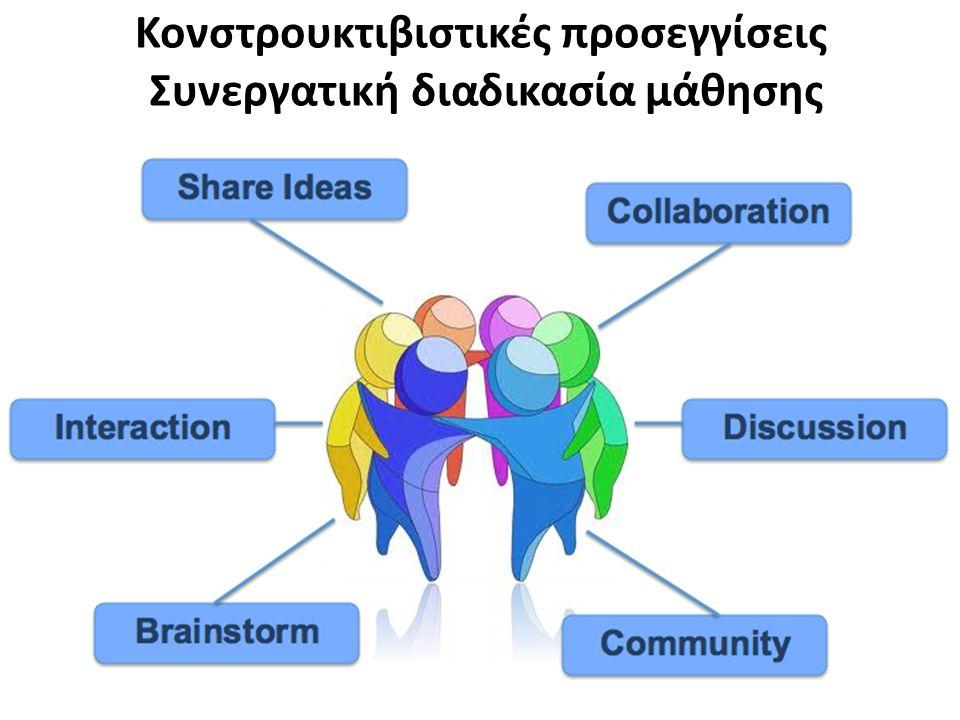 Κονστρουκτιβιστικές προσεγγίσεις Συνεργατική διαδικασία μάθησης