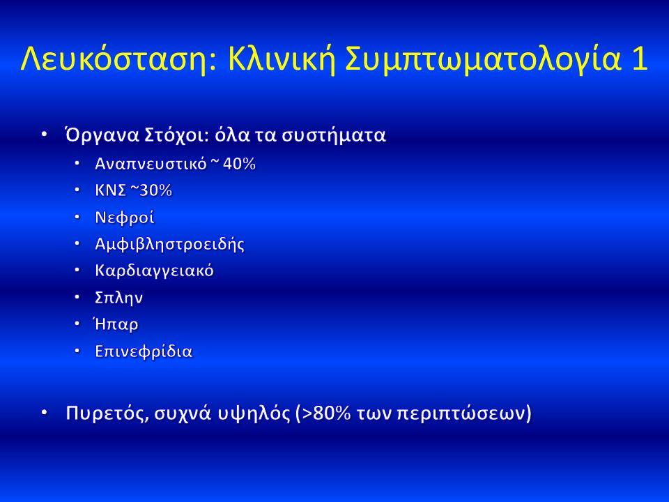 Λευκόσταση: Κλινική Συμπτωματολογία 1
