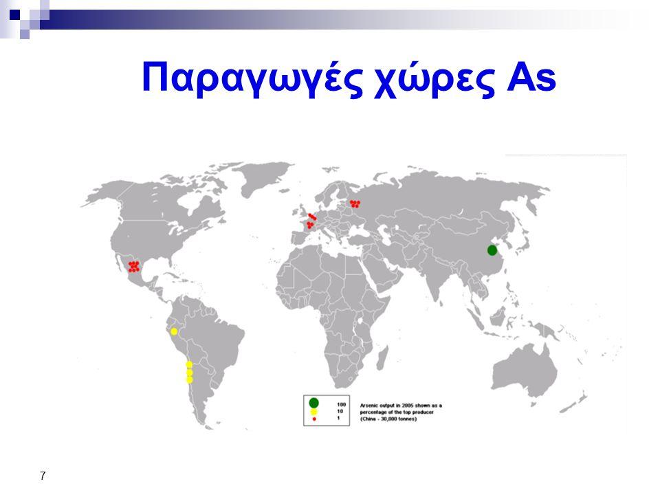 Παραγωγές χώρες As 7