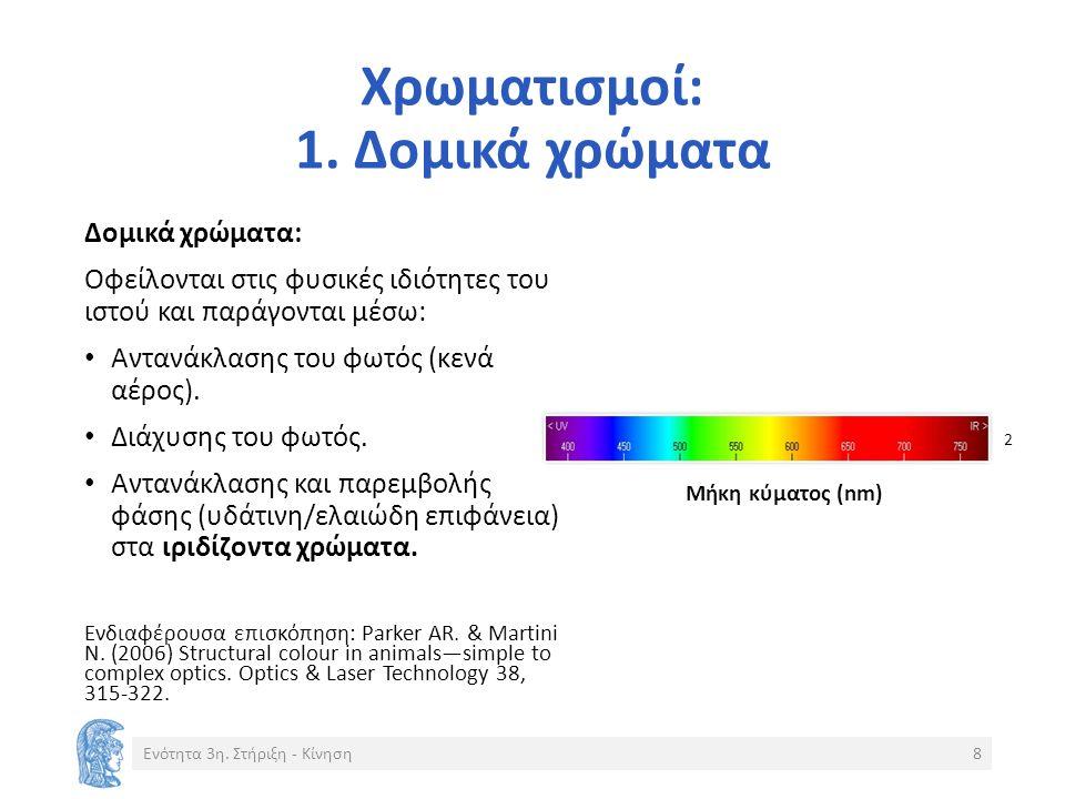 Χρωματισμοί: 1.
