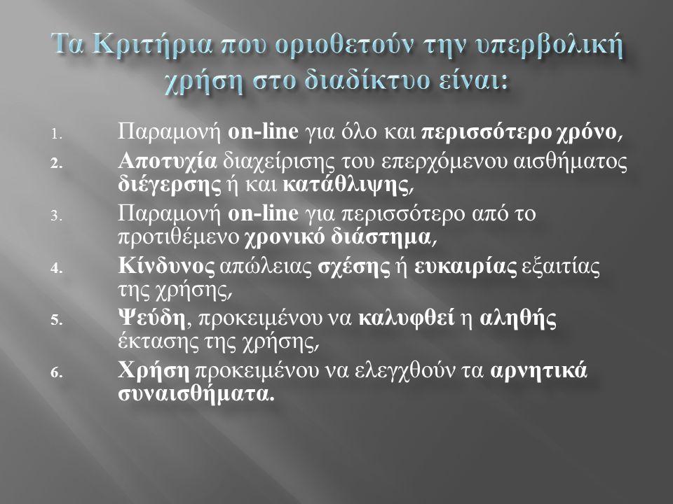 o Η πλειονότητα των εφήβων στην Ελλάδα περνούν ένα μεγάλο μέρος της ημέρας τους μπροστά σε συσκευές με οθόνη.