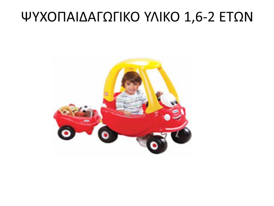 ΨΥΧΟΠΑΙΔΑΓΩΓΙΚΟ ΥΛΙΚΟ 1,6-2 ΕΤΩΝ