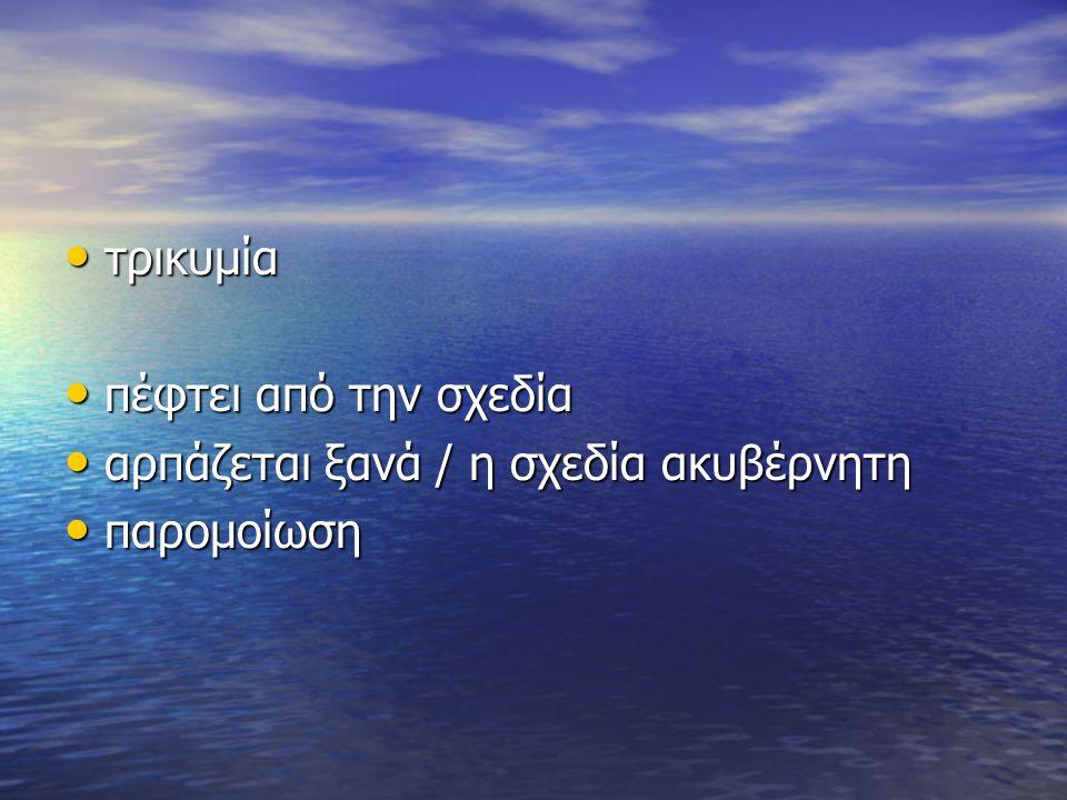 επέμβαση Ινώς – Λευκοθέας επέμβαση Ινώς – Λευκοθέας «σκέψη δίβουλη» (μερμέριξεν) «σκέψη δίβουλη» (μερμέριξεν) δίπολο: θεϊκή επέμβαση ή ελεύθερη βούληση; δίπολο: θεϊκή επέμβαση ή ελεύθερη βούληση; 1 ος εσωτερικός μονόλογος που «εξωτερικεύεται» 1 ος εσωτερικός μονόλογος που «εξωτερικεύεται»