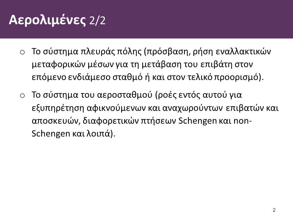 Διεθνής αερολιμένας Αθηνών (Athens International Airport, AIA) 1/2 Στις 31 Ιουλίου 1995, η κυβέρνηση της Ελληνικής Δημοκρατίας και η ιδιωτική κοινοπραξία υπό την HOCHTIEF Aktiengesellschaft συνήψαν τη Σύμβαση Ανάπτυξης Αεροδρομίου (Σ.Α.Α.) με κοινό στόχο την ανάπτυξη του νέου διεθνή αερολιμένα στα Σπάτα, μέσω ενός συνεταιριστικού σχήματος Δημοσίου και Ιδιωτικού Τομέα.