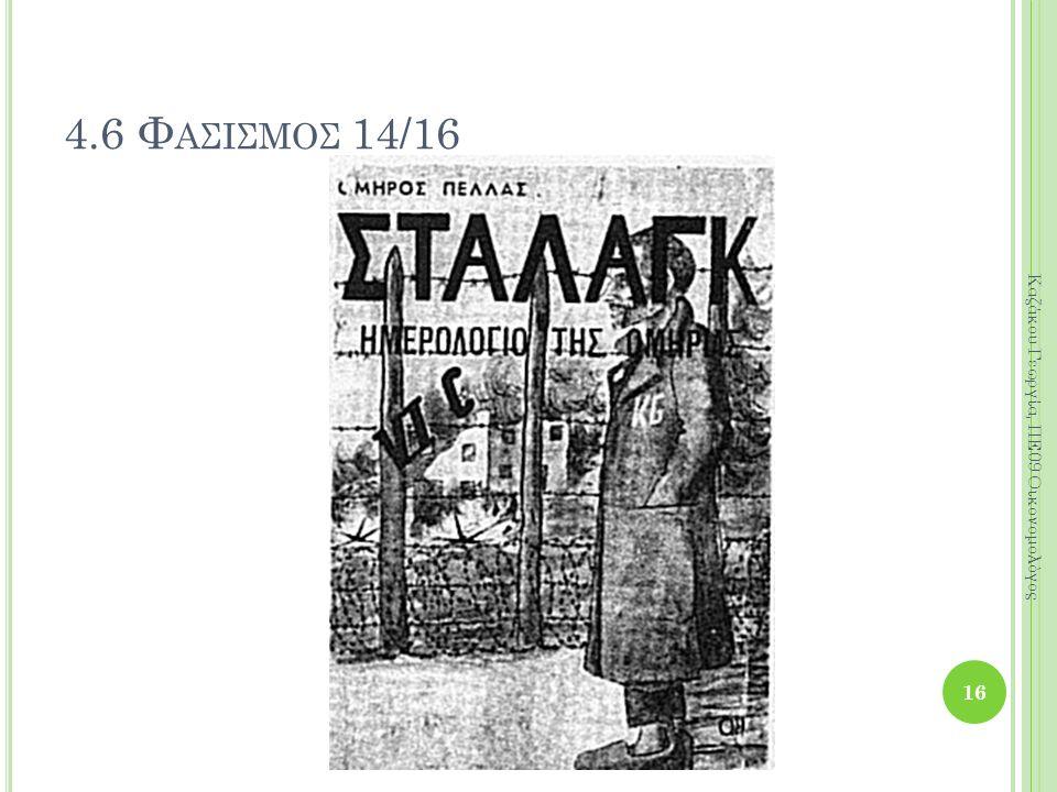 16 Καζάκου Γεωργία, ΠΕ09 Οικονομολόγος 4.6 Φ ΑΣΙΣΜΟΣ 14/16