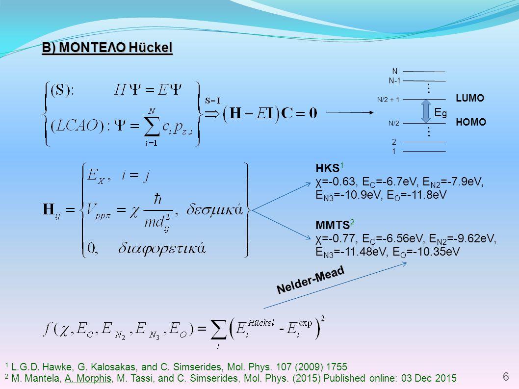 ΠΑΡΑΔΕΙΓΜΑ: A -1 -T ΠΑΡΑΔΕΙΓΜΑ: A -1 -T 1 Μεθοδολογία  CDFT Αρχική κατάσταση  Υπολογισμός φυσικών μεγεθών  RT-TDDFT Χρονική εξέλιξη f ≈ 36 THz 1 K.