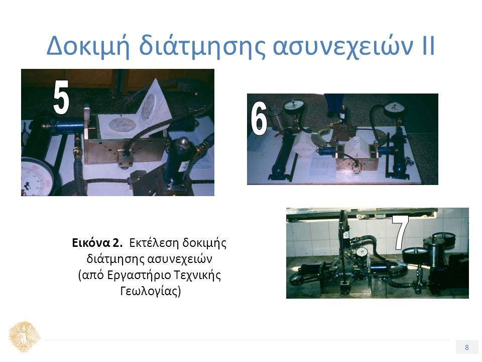 8 Δοκιμή διάτμησης ασυνεχειών ΙΙ Εικόνα 2.