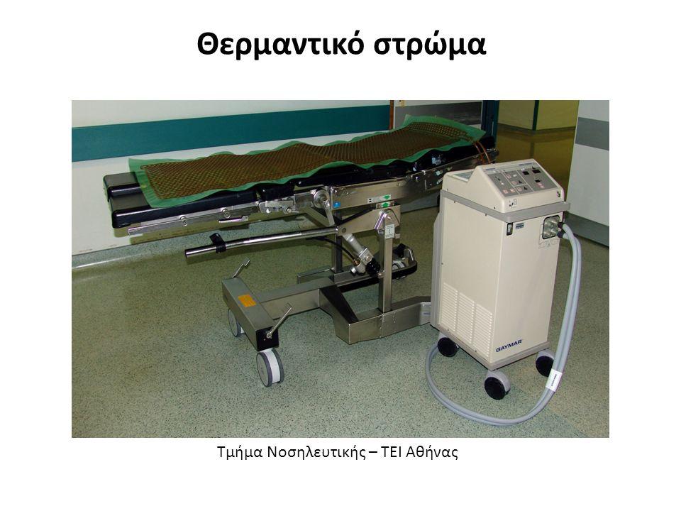 Μετεγχειρητικές Επιπλοκές (3/3) Παραλήρημα (διανοητική σύγχυση) Επιμόλυνση τραύματος Ρήξη ραμμάτων Εκσπλάχνωση (προβολή των σπλάχνων και των ιστών που βρίσκονται κάτω από την τομή) Διαταραχές του νερού και των ηλεκτρολυτών.