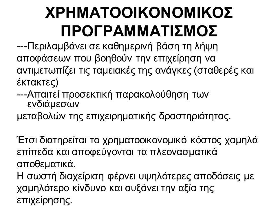 Κατηγορίες αριθμοδεικτών α.