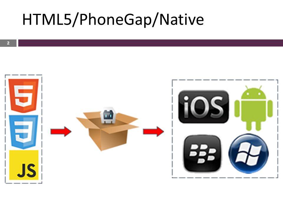  HTML5 ● Δίχως περιττές διαδικασίες και ελέγχους των app store.