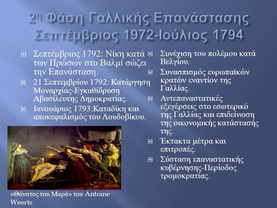  Σεπτέμβριος 1792: Νίκη κατά των Πρώσων στο Βαλμί σώζει την Επανάσταση.