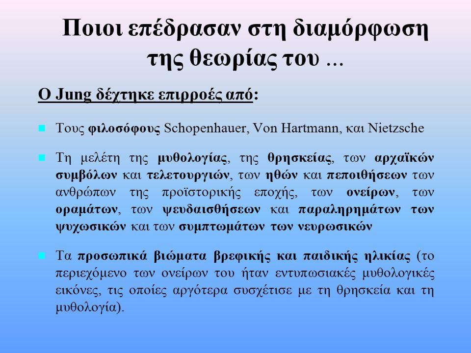Βιογραφικά στοιχεία του ιδρυτή & ιστορική αναδρομή n n Ο Jung γεννήθηκε στις 26 Ιουλίου 1875 στο Kessewil, Ελβετίας.