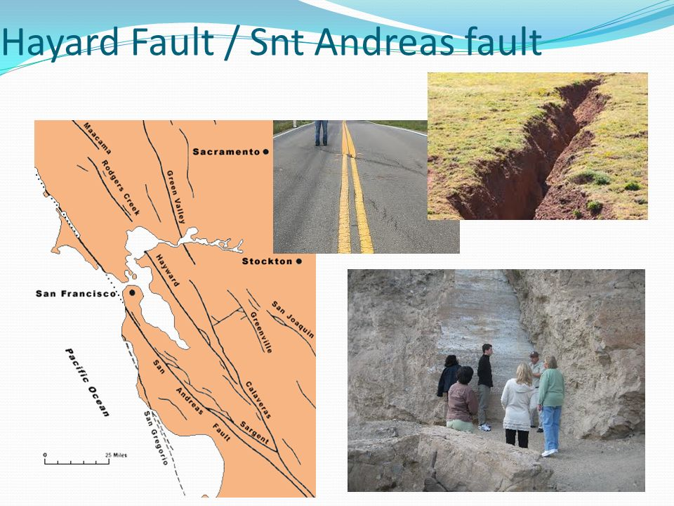 Hayard Fault / Snt Andreas fault