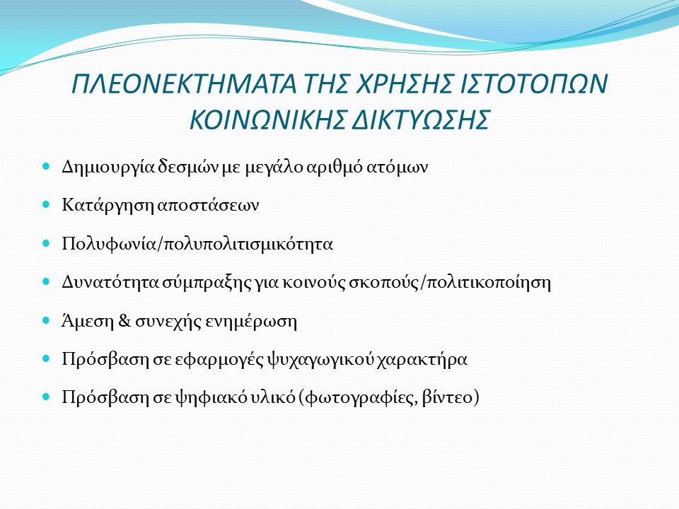 ΠΡΟΣΩΠΙΚΑ ΔΕΔΟΜΕΝΑ ΠΟΥ ΑΝΕΒΑΖΟΥΝ