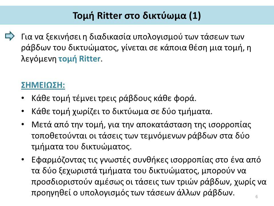 Τομή Ritter στο δικτύωμα (2) 7