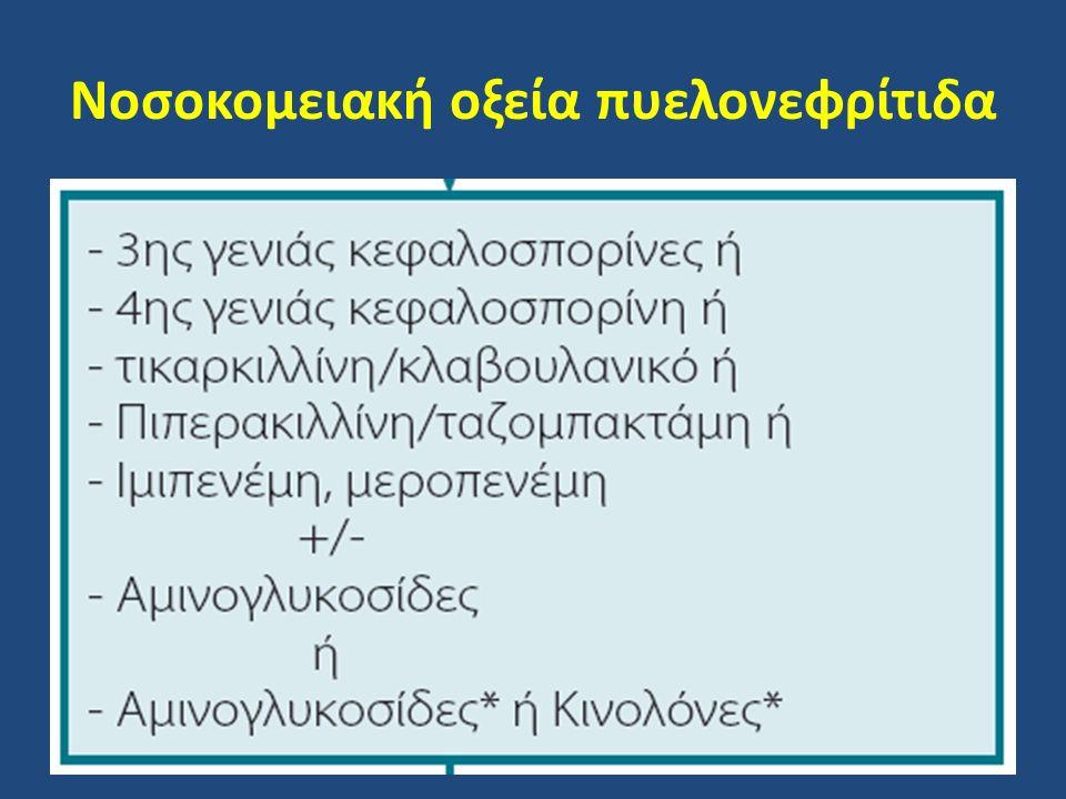 Νοσοκομειακή οξεία πυελονεφρίτιδα