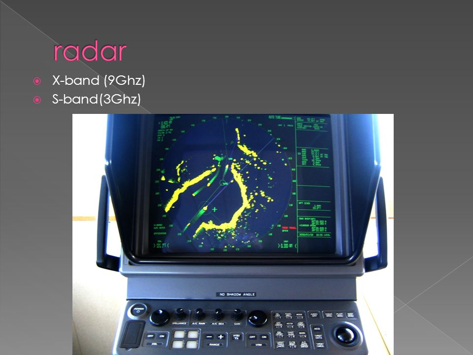  X-band (9Ghz)  S-band(3Ghz)