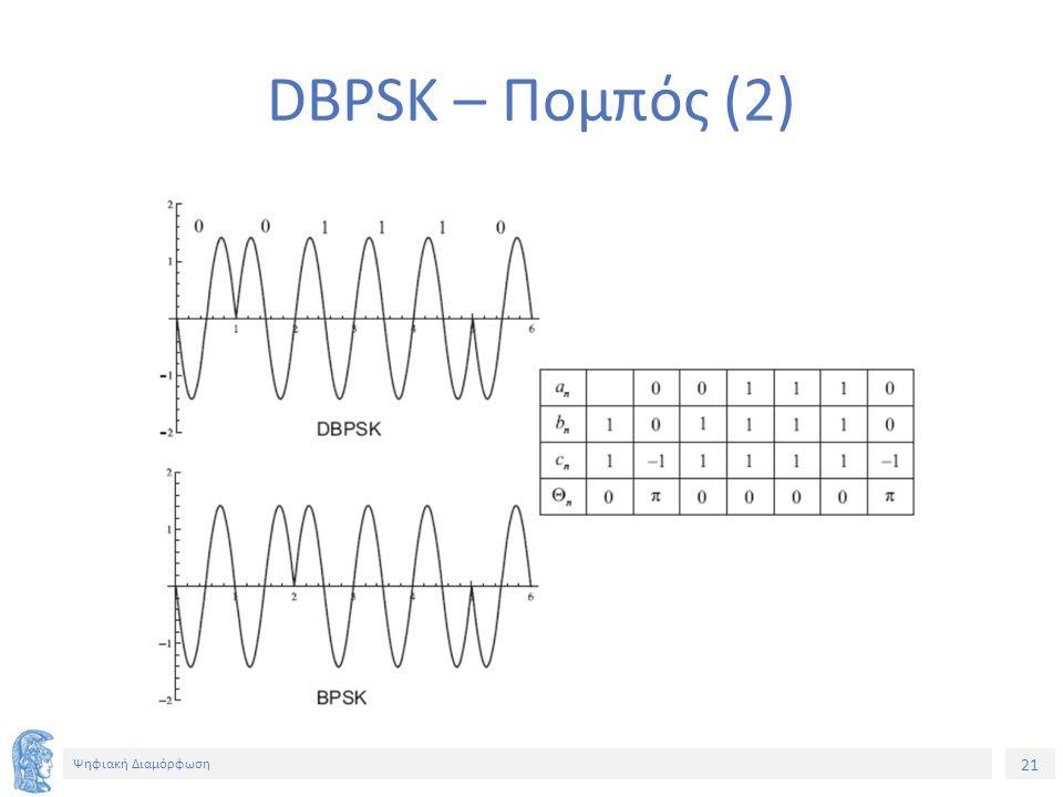 21 Ψηφιακή Διαμόρφωση DBPSK – Πομπός (2)