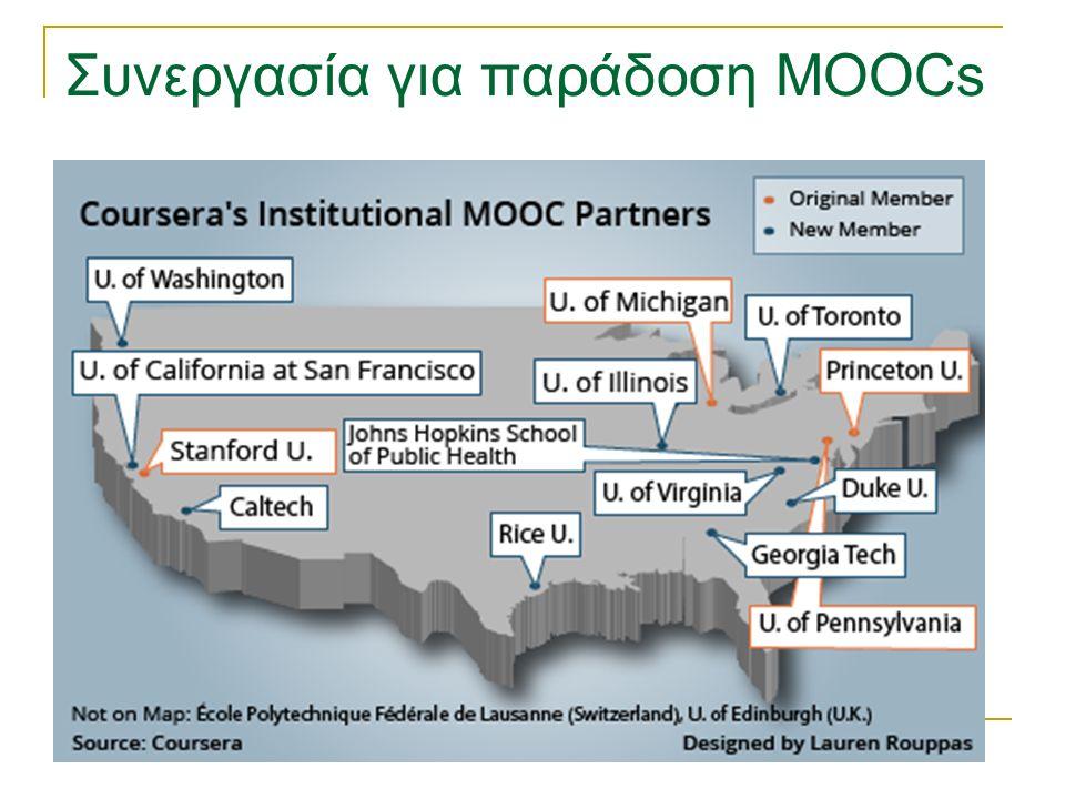Συνεργασία για παράδοση MOOCs