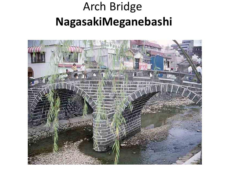 Arch Bridge NagasakiMeganebashi