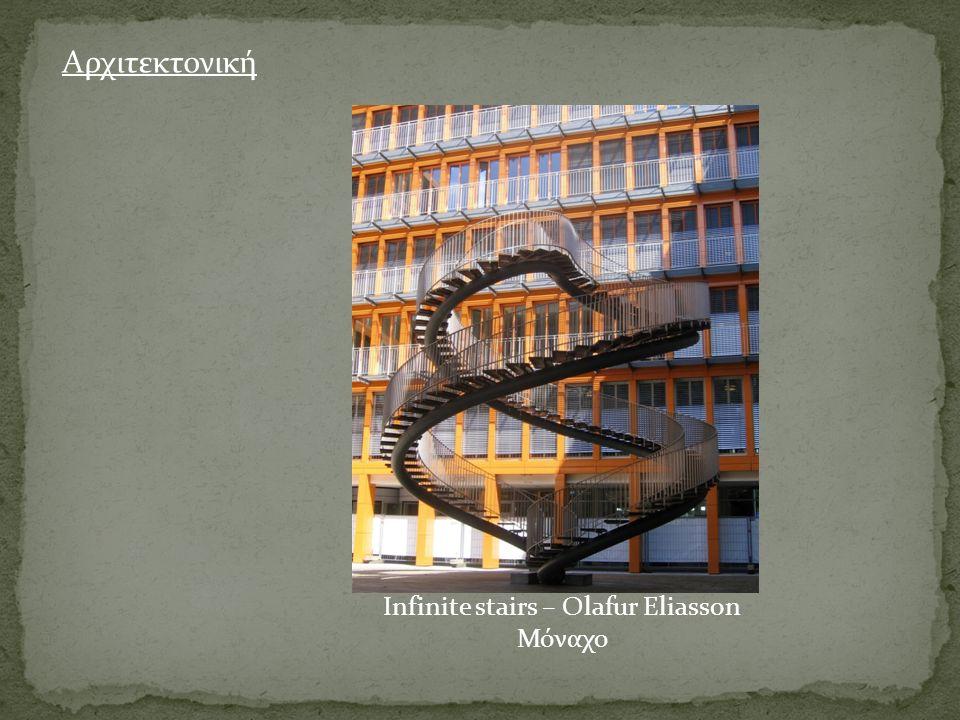 Infinite stairs – Olafur Eliasson Μόναχο Αρχιτεκτονική