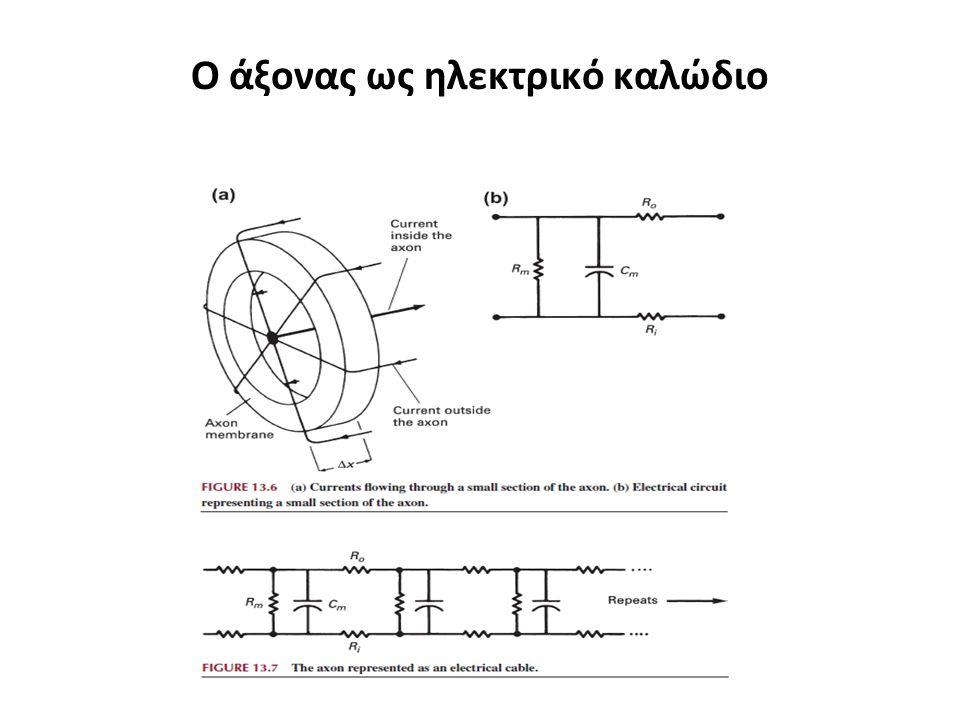 Ο άξονας ως ηλεκτρικό καλώδιο