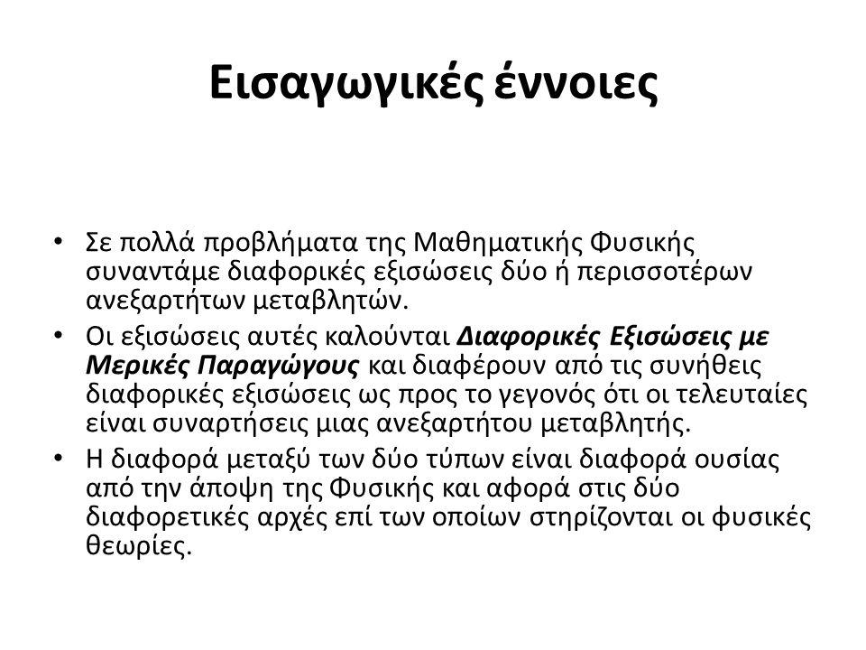 Εισαγωγικές έννοιες (2)