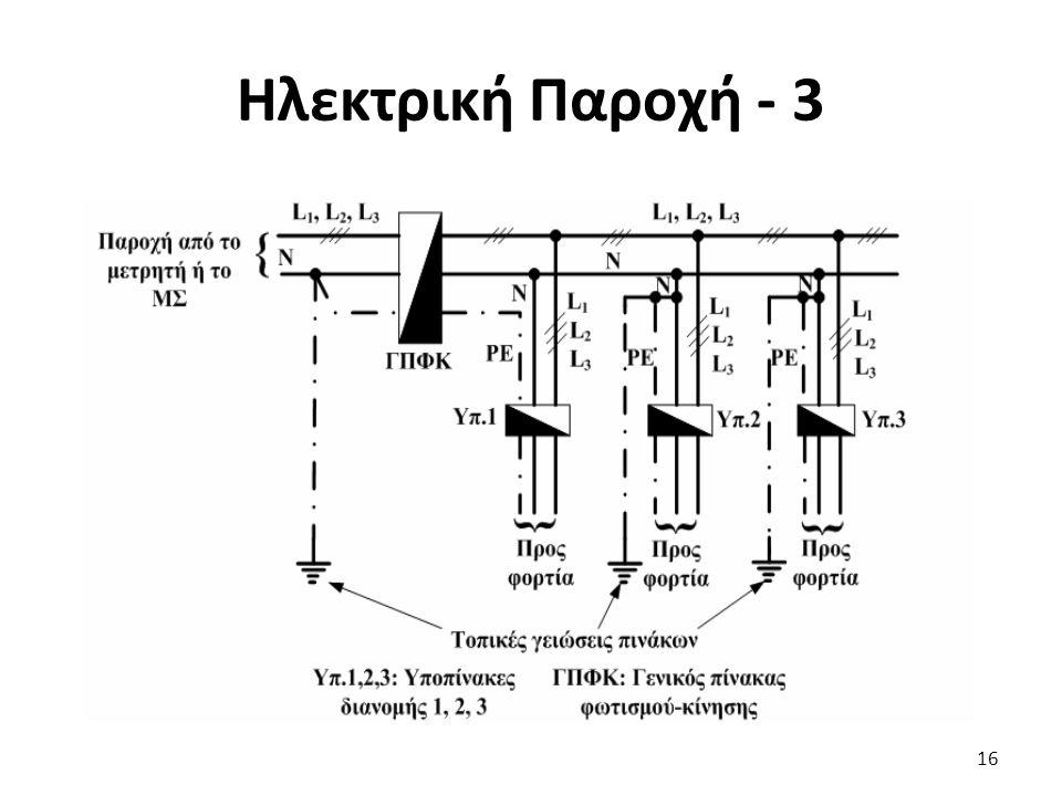 Ηλεκτρική Παροχή - 3 16