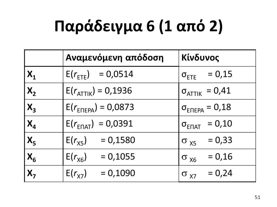 Παράδειγμα 6 (1 από 2) 51