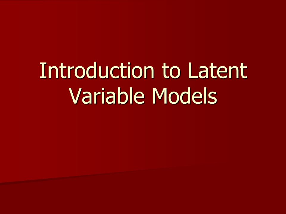 Lisrel Syntax for Model B Three indicator Model A Observed VAriables: X1 X2 X3 Covariance Matrix: 2.062 0.783 1.519 0.798 0.498 1.558 Latent Variable: Y Sample Size: 1000 Relationships: X1 = Y X2 = Y X3 = Y Path Diagram Print Residuals Lisrel Output: SS SC EF SE VA MR FS PC PT End of problem