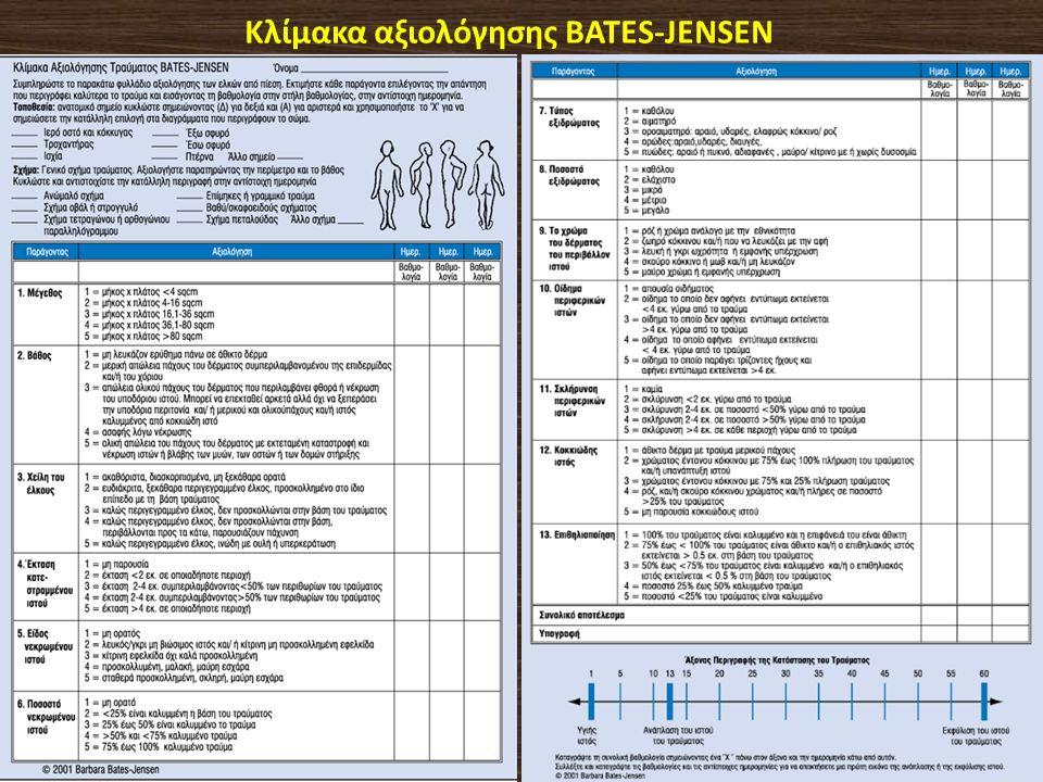 Κλίμακα αξιολόγησης BATES-JENSEN