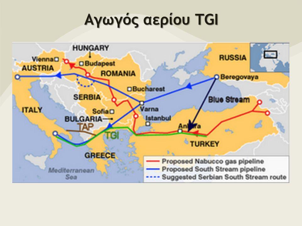 Αγωγός αερίου TGI